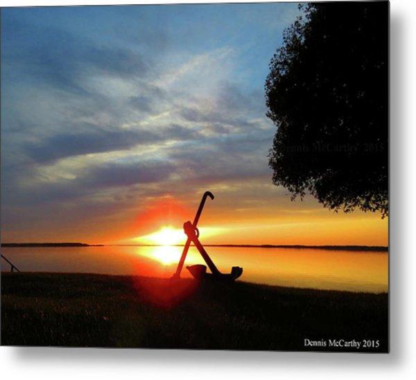 Beadles Point Sunset Metal Print