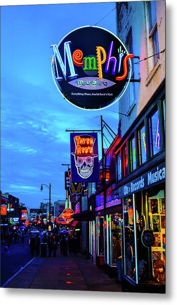Beale Str. Blues  Metal Print