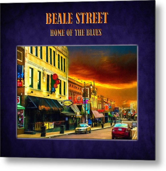 Beale Street - Home Of The Blues Metal Print