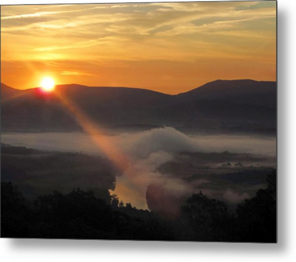 Beaming Shenandoah Metal Print