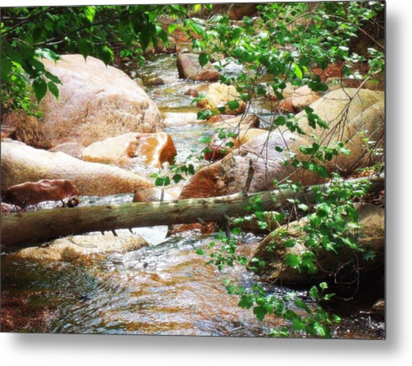 Bear Creek Cheyenne Canyon Metal Print