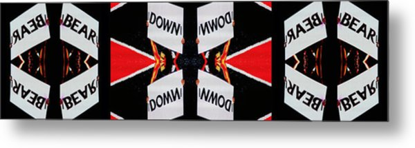 Bear Down Metal Print