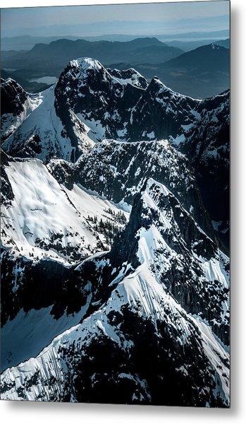 Beartooth Mountain Bc Metal Print