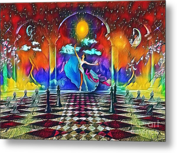 Beatific Games Metal Print