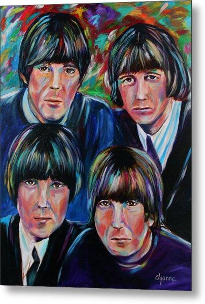 Beatles Metal Print by Dyanne Parker