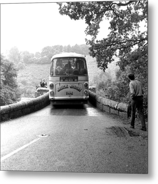 Beatles Magical Mystery Tour Bus Metal Print