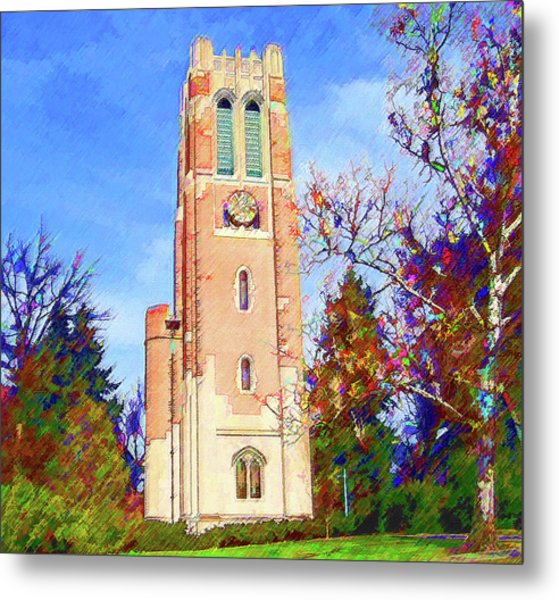 Beaumont Tower Metal Print