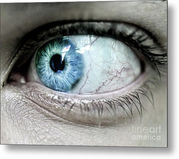 Beautiful Blue Eye Metal Print