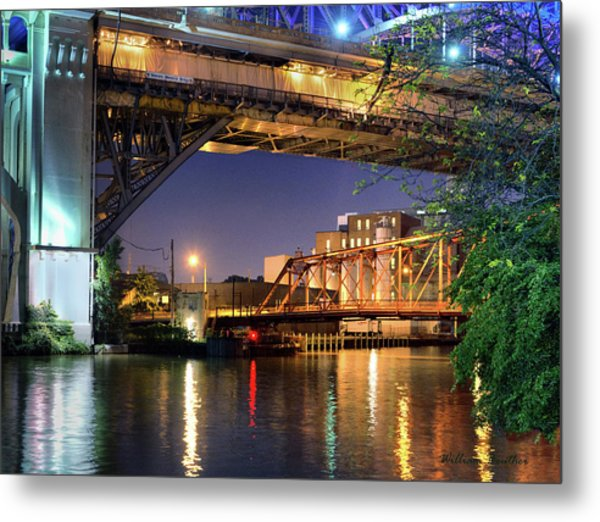 Beautiful Bridges Metal Print