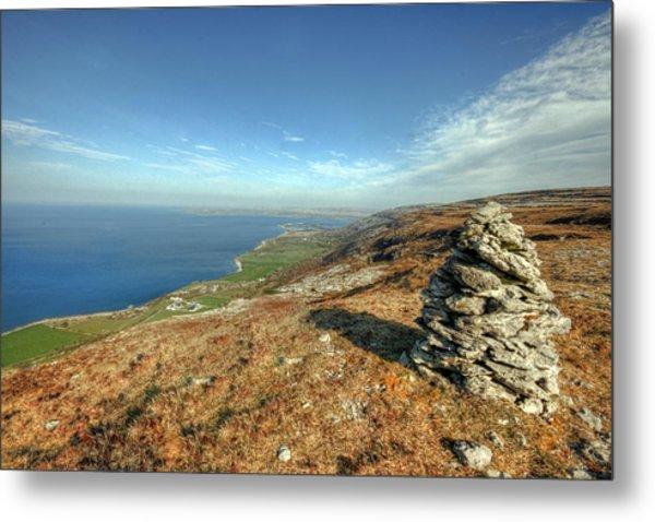 Beautiful Burren View Metal Print by John Quinn