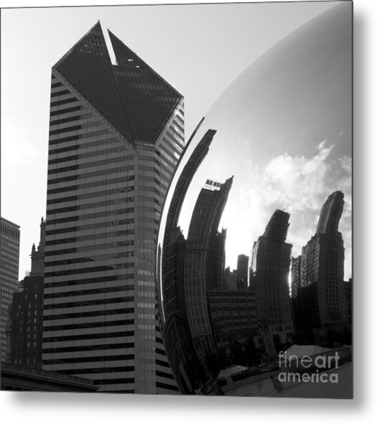 Beautiful Chicago Metal Print by Chris Litschka
