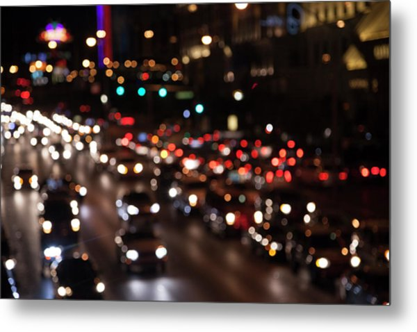 Metal Print featuring the photograph Beautiful Congestion by Eric Christopher Jackson