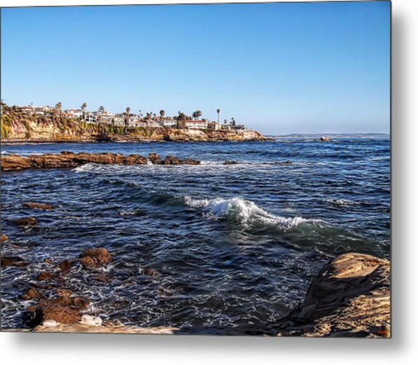 Beautiful Day In La Jolla Metal Print