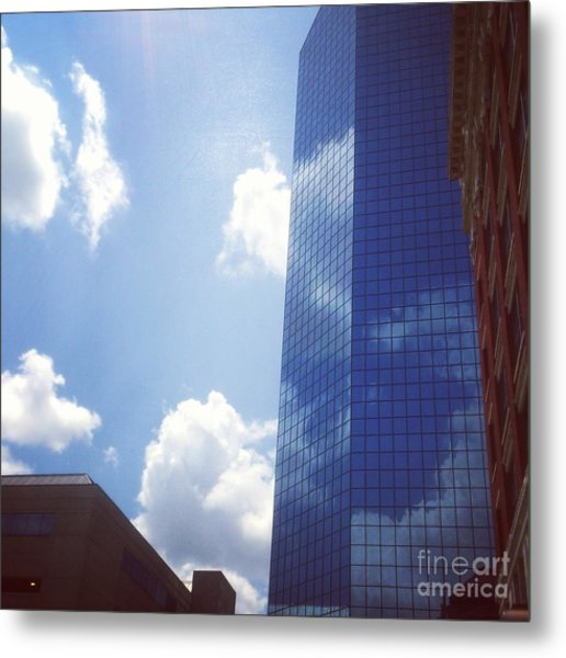 Metal Print featuring the drawing Beautiful Day In Lexington, Ky by Rachel Maynard
