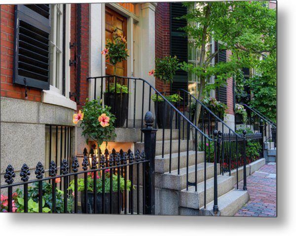 Metal Print featuring the photograph Beautiful Entrance by Michael Hubley