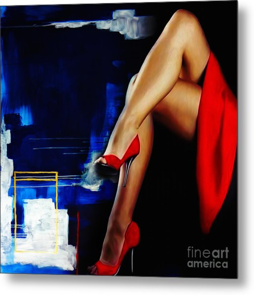 Beautiful Legs 02  Metal Print