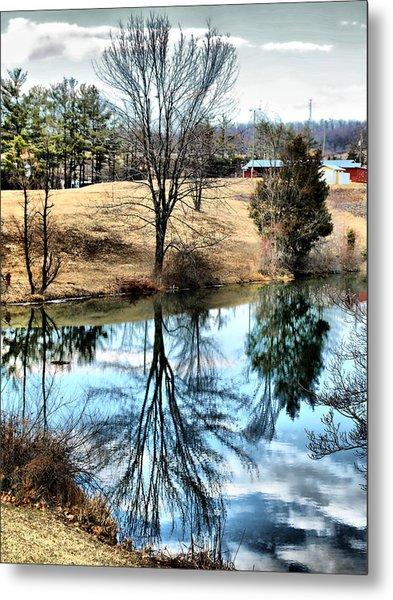 Beautiful Reflection 2 Metal Print by Kathy Jennings