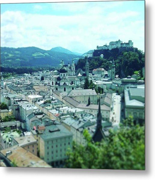 #beautiful #salzburg #austria Metal Print