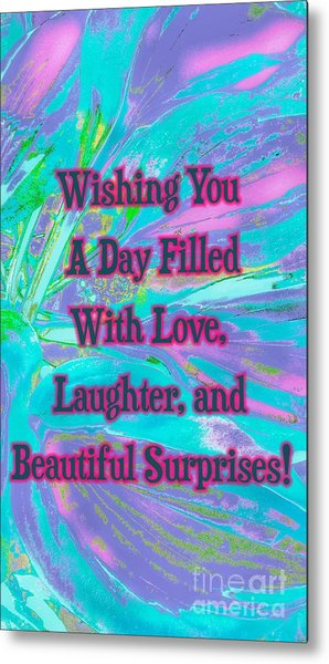 Beautiful Surprises Metal Print