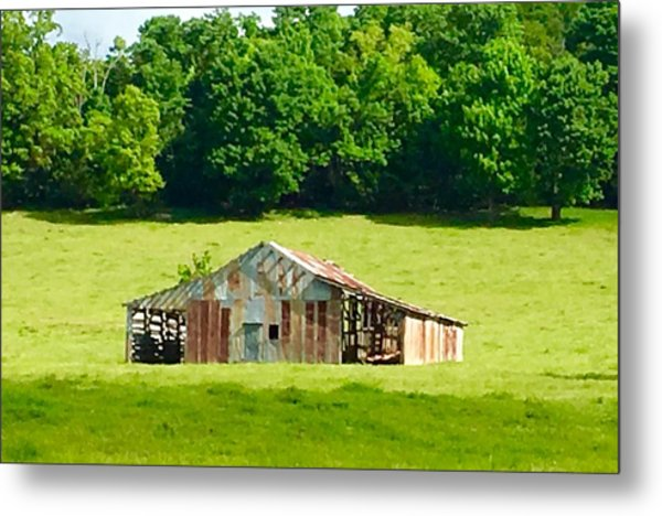 Beautifully Noble Barn Metal Print