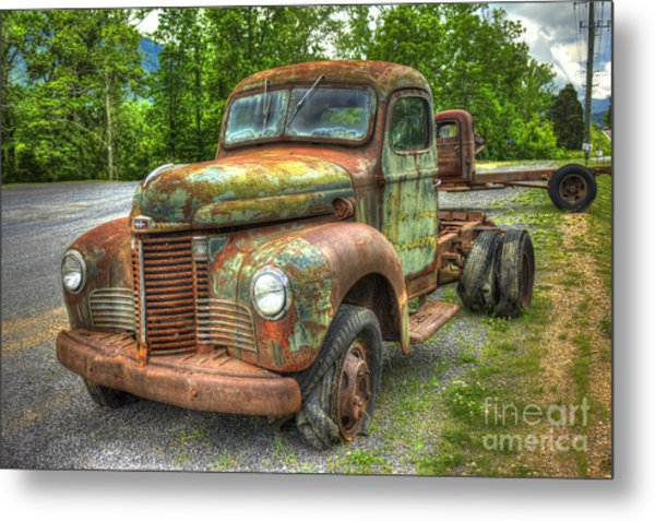 Beauty And The Best 1947 International Harvester Kb 5 Truck Metal Print