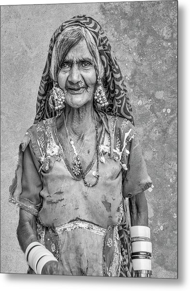 Beauty Before Age. Metal Print