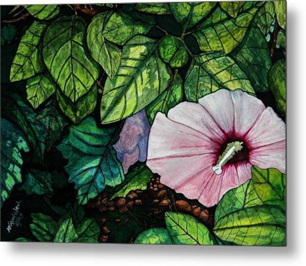 Beauty In Bloom Metal Print by Willie McNeal