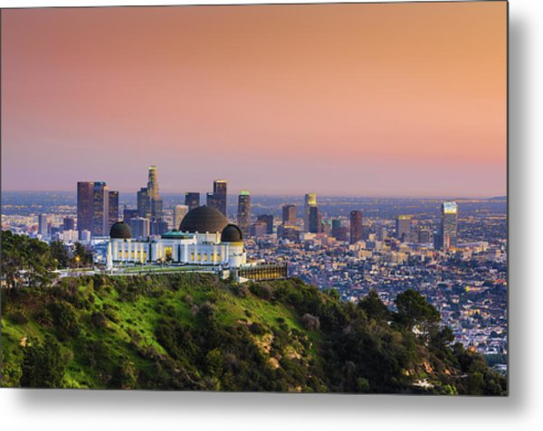 Beauty On The Hill Metal Print
