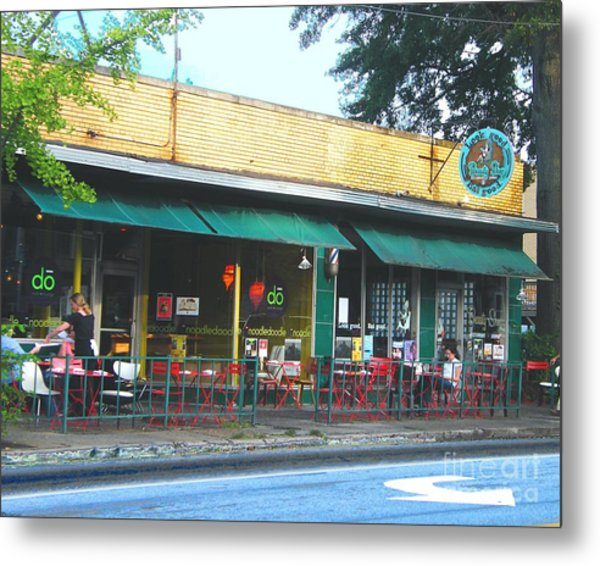 Beauty Shop And Do  Cooper Young Memphis Metal Print