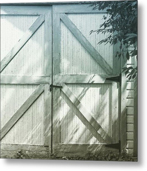 Beauty's Where You Find It Metal Print