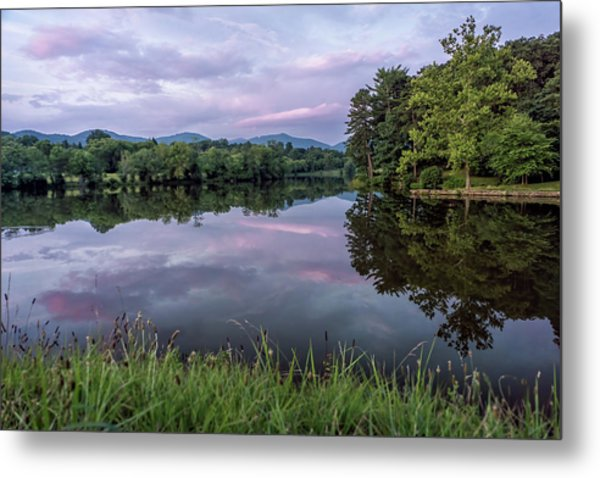 Beaver Lake Reflections Metal Print