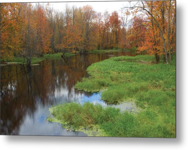 Beaver River Colors Metal Print