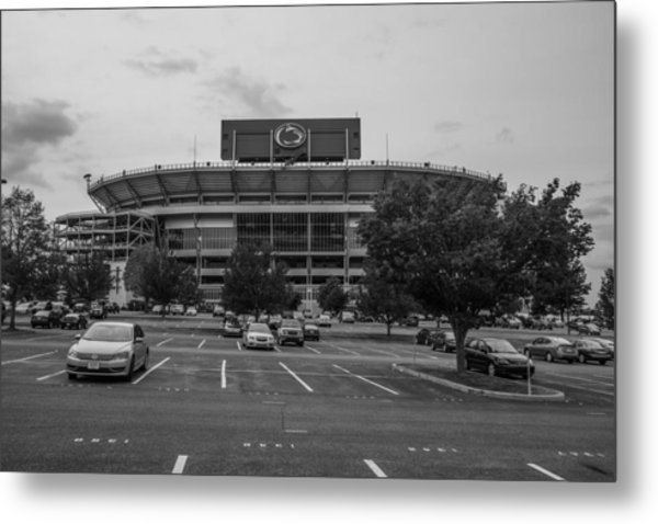 Beaver Stadium And Lot Metal Print