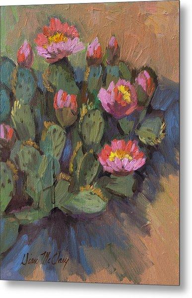 Beavertail Cactus 4 Metal Print