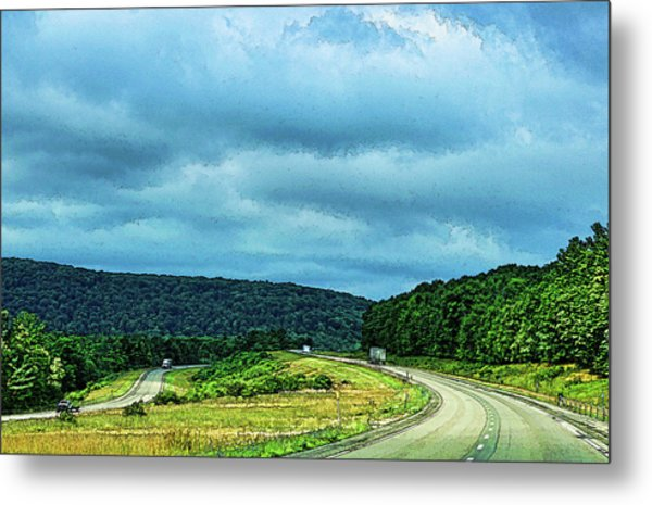 Beckoning Road Metal Print