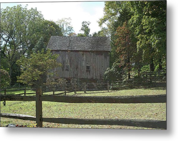 Bedford Barn Metal Print