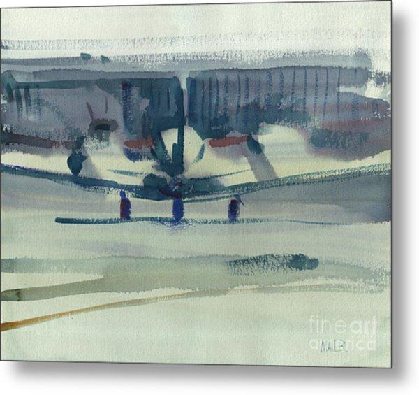Beechcraft King Air Metal Print by Donald Maier
