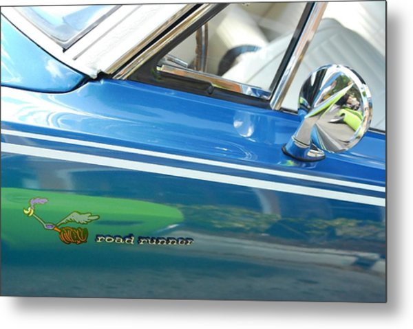 Beep Beep Hot Rod Metal Print