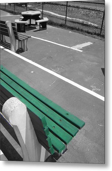 Before The Race Metal Print by Heather Weikel