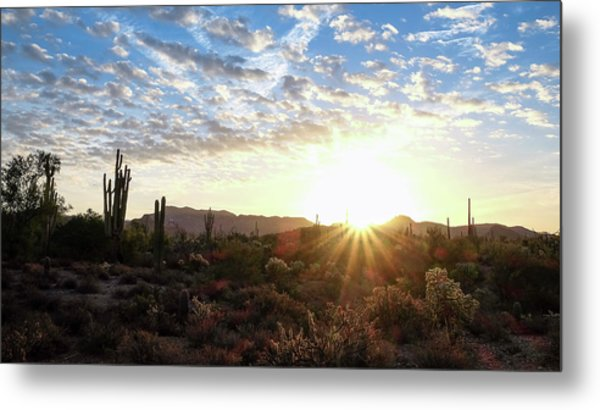 Beginning A New Day Metal Print