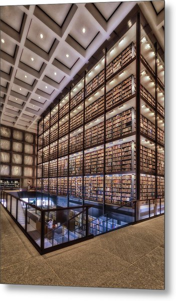 Beinecke Rare Book And Manuscript Library Metal Print