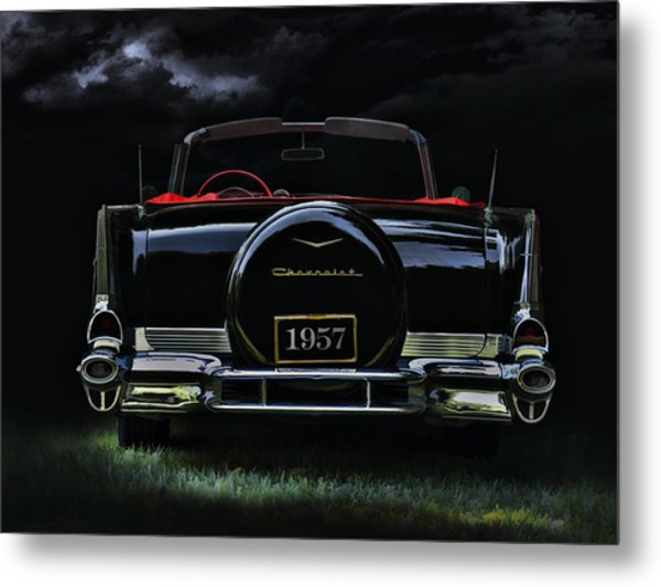 Bel Air Nights Metal Print