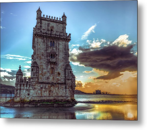 Belem Tower II Metal Print