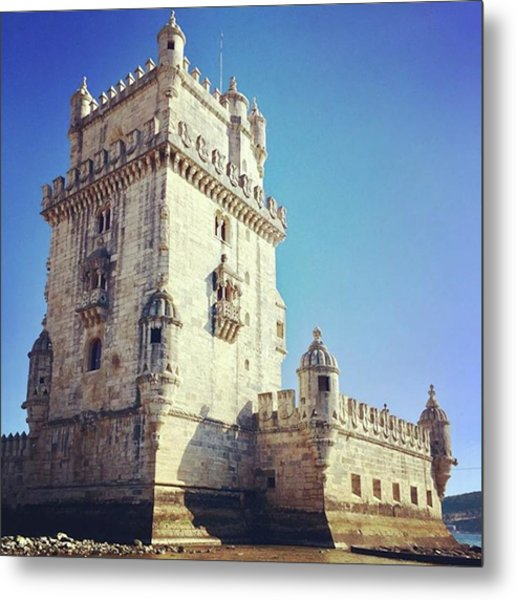 #belemtower #tower #fortress #lisbon Metal Print