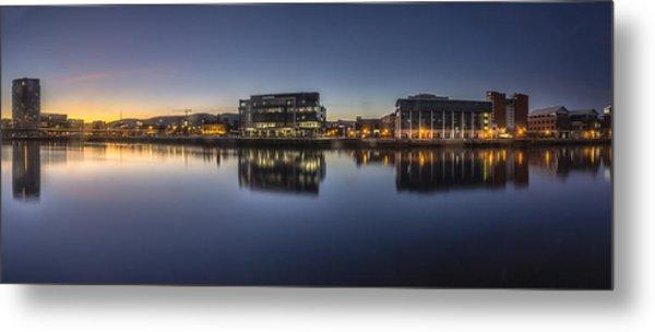 Belfast Near The Docks Metal Print