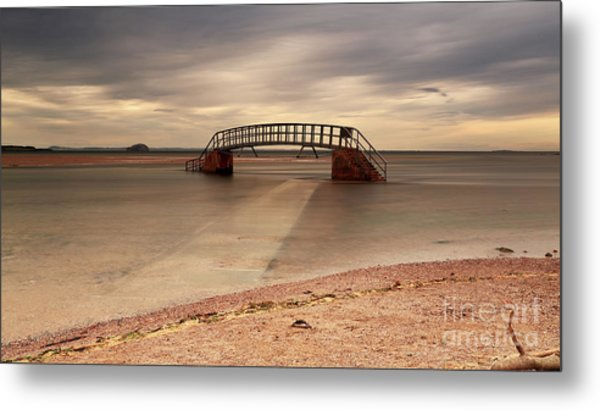 Belhaven Stairs And The Bass Metal Print