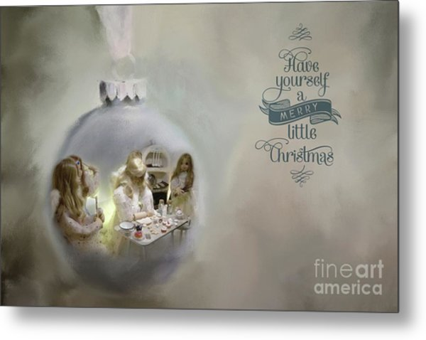 Believe In The Magic Of Christmas Metal Print