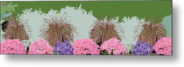 Belknap Mill Flowers Metal Print by Marian Federspiel