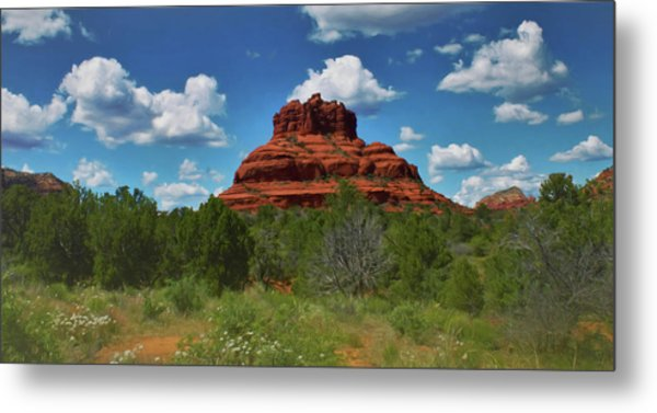 Bell Rock In Sedona Metal Print