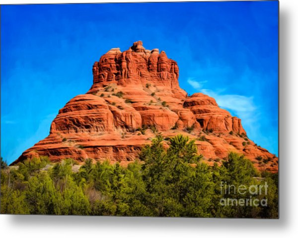 Bell Rock Tower Metal Print
